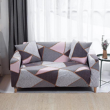 DEALS FOR LESS - Strechable Sofa Cover, One Seater, Geometric Design
