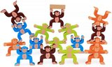 Brain Giggles Wooden Stacking Games -  Monkeys Interlock