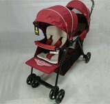 Twin Stroller T2, Red