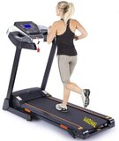 Marshal Fitness Six Level Shock Absorption Foldable Space Saving Home Use Treadmill With Mp3 And Lcd Display With Tow Year Warranty -Pkt-175-1