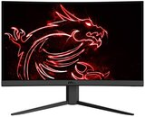 "MSI Optix G24C4 Curved Gaming Monitor, 24"" FHD, 1500R Curvature, Non-Glare Super Narrow Bezel, 1ms 1920 x 1080 144Hz Refresh Rate, Tilt Adjustment, Black"