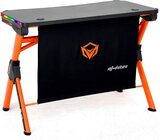 MEETION GAMING DESK STATION DSK20 - Black / Orange