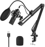 FIFINE Fifine K780 Factory Professional Recording USB Microphone with Arm stand