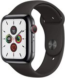 Apple Watch Series 5 (GPS + Cellular) Space Grey Aluminium Case With Black Sport Band