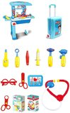 Kids Medical Suitcase set Role Play Doctor Pretend Toy play House Toys -Blue