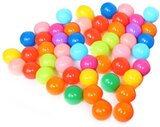 1989Candy Ocean Ball Outdoor Game Playing Toy? Colorful Soft Plastic Ocean Water Pool Ball Funny Baby Kid Swim Toy(50Pcs)