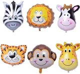 Brain Giggles Jungle Safari Animals Balloons