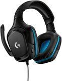 Logitech G432 Wired Gaming Headset, 7.1 Surround Sound, Dts Headphone -  Black