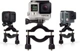 Gopro -Roll Bar Mount 3-Way Pivot Arm (Mounting Hardware) high quality material, clamping, firm grip -GoPro Camera -1.4