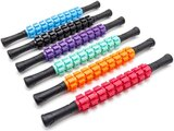 Marshal Fitness Muscle Roller Stick For Athletes, Exercise Runners And Dancers, Massager Stick For Relief Muscle Soreness, Triggle Points, Leg And Back Recovery Multicolor- Mfx-0008