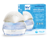 Blu Mini Breez Ionic Air Purifier- Removes Airborne Viruses, Natural Immune System Booster, Eliminates Allergens & Odors, Therapeutic Aromatherapy
