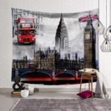 DEALS FOR LESS - Wall Tapestry Home Decor, London Design.