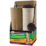 """Four Paws Sisal/Carpet Cat Scratcher 21"""" inches"""