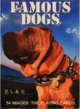 Famous Dogs Playing Cards, Laminated, 54 Cards With Dogs Images.