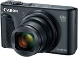 Canon PowerShot SX740 HS Point & Shoot Digital Camera with 4.3-172mm Lens, 40x Optical Zoom, 3 Inch Tilt LCD, 20.3 MP, Black