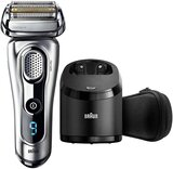 Braun Series 9 Syncro Sonic Technology Shaver With 10D Flex Head Set Silver/Black