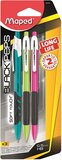 Maped 0.5 Mm Long Life Mechanical Pencils (Pack Of 3)