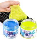 Keyboard Cleaner Cleaning Gel Sticky Jelly Dust Cleaning Gel Set Guitar Keyboard Computer, Car, Laptop