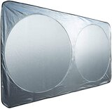 Car Windshield Sun Shade, 150X70Cm, 2Pieces In One Set, Sunshade To Keep Your Car Cool And Demage Free
