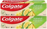 Colgate Natural Extracts Ultimate Fresh with Lemon and Aloe Vera Toothpaste 75ml Pack of 2