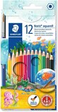 Staedtler Staedtler Watercolor Pencils, Box Of 12 Colors (14410Nc12)