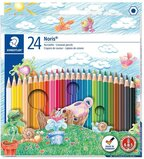 Staedtler Staedtler Noris Club Coloured Pencils, Multi-Colour, Pack Of 24