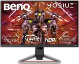 BenQ MOBIUZ EX2710 27 inch HDRi IPS Gaming Monitor, 144Hz 1ms, AMD FreeSync Premium, FHD 1080p, sRGB, Built-in Speakers, Flicker-free, Bezel-less