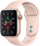 Apple Watch Series 5 (GPS + Cellular) Gold Aluminium Case With Pink Sand Sport Band