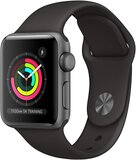 Apple Watch Series 3 GPS Space Gray Aluminum Case with Black Sport Band