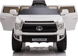 Licensed Toyota Tundra Ride-On Truck Car White