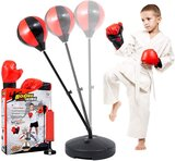 """Marshal Fitness Punching Bag With Stand For Kids 43"""", Kids Punching Bag With Gloves, Punching Bag Set For Kids 3-8, Portable & Easy To Assemble- Mf-226"""