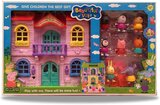 Generic Beautiful Villa With Lights and 8 Figures, The Best Gift For Childrens For Ages 3 +