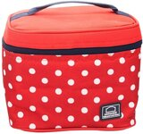 Lock & Lock Lunch Box 4Pc-Set - 1Pc Dotted Bag Red, 2Pcs Food Container, 1Pc Water Bottle