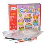 Brain Giggles DIY Mould and Paint Magnet Fridge (cupcake)