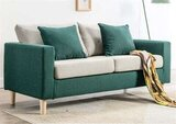 Living Room Sofa Office Sofa Bed Lounge Couch Sofa Bed,Darkgreen