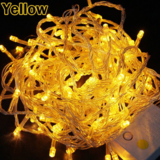 DEALS FOR LESS - 1M LED String Fairy Lights, Waterproof Decorative Light for Indoor & Outdoor. Yellow Color.