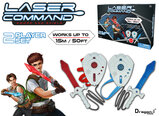 Laser Command Sword And Shield
