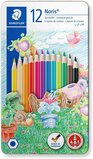 Staedtler Staedtler Coloured Pencils Pack Of 12 In Metal Tin