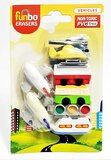 Funbo 3D Eraser in Blister Pack-Vehicle