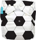 Charlie Banana Soccer Diaper with Two Reusable Inserts, Size 1