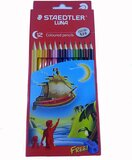 Staedtler Staedtler Colored Pencils, 12 Colors, Pre-Sharpened, Free sharpener (Luna-12ct)