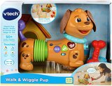 Vtech Walk & Wiggle Learning Puppy, Multi-Colour, Vt80-522703