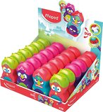 Maped LOOPY TOTEM ERASER/SHARPENER, PACK OF 24