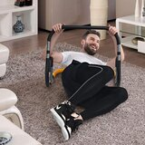 Marshal Fitness Ab Roller Trainer Fitness Crunch Ab Trainer Abdominal Machine Complete Portable Home Core Training System Abdominal Muscle Trainer