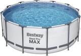Bestway, Steel Pro Frame Pool Set(Contents: Pool, Filter Pump, Ladder, Ground Cloth, Cover) 366X122Cm -26-56420