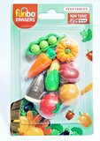 Funbo 3D Eraser in Blister Pack-Vegetable.