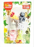 Funbo 3D Eraser in Blister Pack-Zoo.