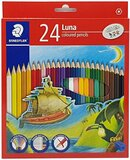 Staedtler STAEDTLER LUNA 24 COLOR PENCILS 136 C24 ST-136-LC24