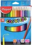 Maped Colorpeps Color Pencil - 18 Pieces