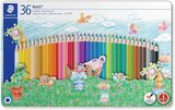 Staedtler Staedtler Noris Colouring Pencils 145 Spm36 Sport Design Tin 36, Packaging May Vary